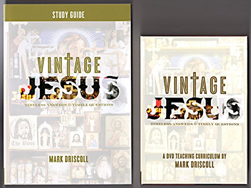 9781928828099: Vintage Jesus DVD Curriculum: Timely Answers for Timely Questions