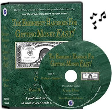 9781928849353: The Emergency Handbook For Getting Money FAST! (Unabridged 10-CD Audiobook of 5th Edition.) Narrated