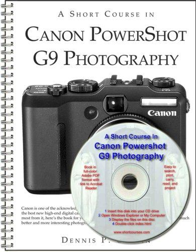 9781928873822: A Short Course in Canon Powershot G9 Photography book/ebook