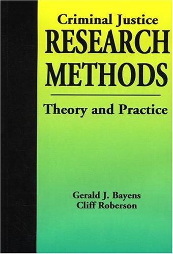 9781928916062: Criminal Justice Research Methods