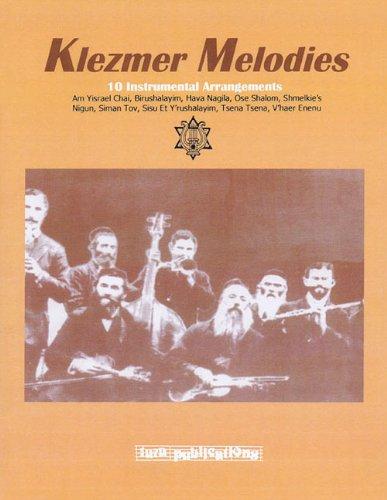 9781928918882: Klezmer Melodies: 10 Instrumental Arrangements