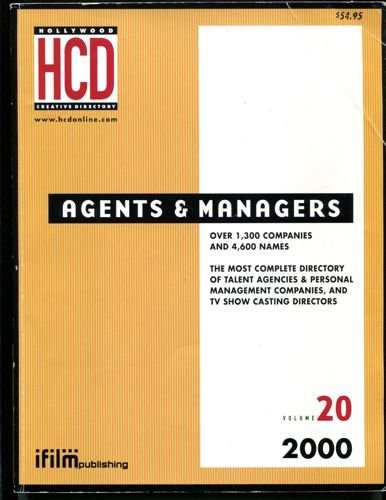 9781928936084: Hollywood Agents and Managers Directory (Hollywood Representation Directory)