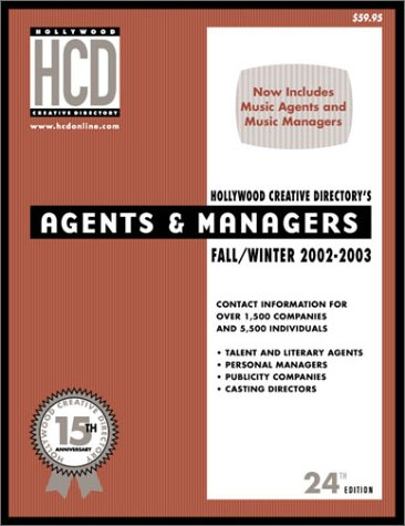 Hollywood Agents & Managers Directory (Hollywood Representation Directory)