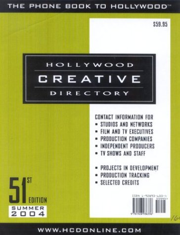 Hollywood Creative Directory, 51st Edition: Directory, Hollywood Creative