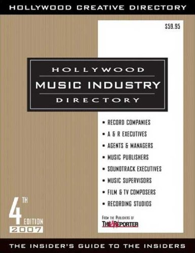 9781928936541: Hollywood Music Industry Directory 4th Edition