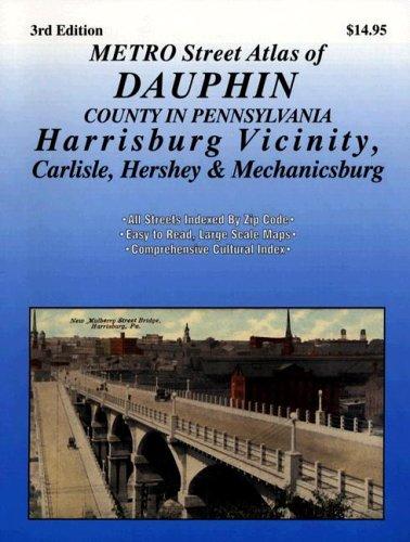 9781928955986: Harrisburg & Dauphin, Pennsylvania (Metro Street Atlas Series)