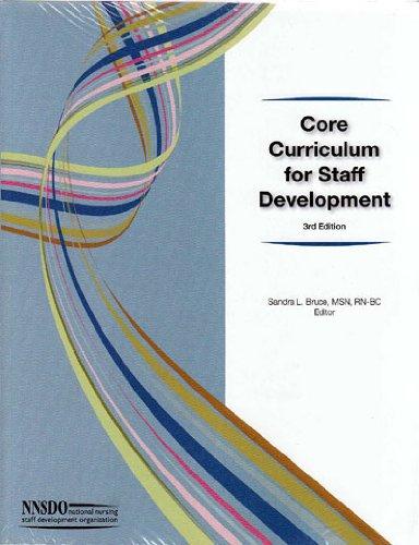 9781928963349: Core Curriculum for Staff Development