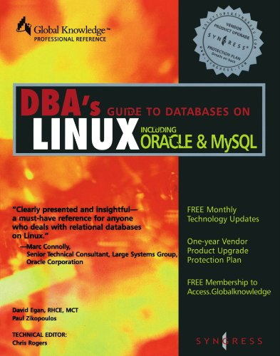 9781928994046: DBA's Guide to Databases Under Linux