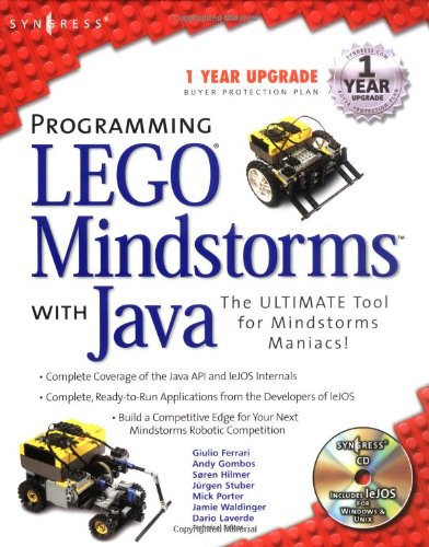 9781928994558: Programming Lego Mindstorms with Java (With CD-ROM)