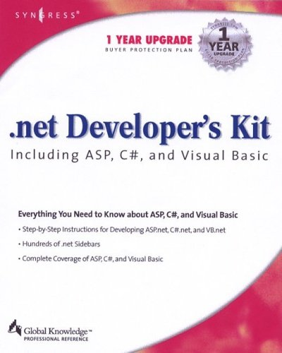 Net Developers Kit Including Asp C# and: Wakefield Cameron