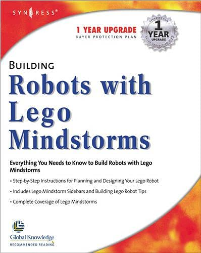 Building Robots With Lego Mindstorms : The Ultimate Tool for Mindstorms Maniacs 9781928994671 Lego robots! Mindstorms are sweeping the world and fans need to learn how to programme them Lego Mindstorms are a new generation of Lego