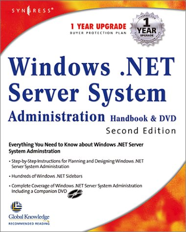 9781928994794: Windows 2000 Server System Administration Handbook (With DVD)