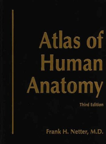 9781929007219 Atlas Of Human Anatomy Deluxe Hardcover Edition With