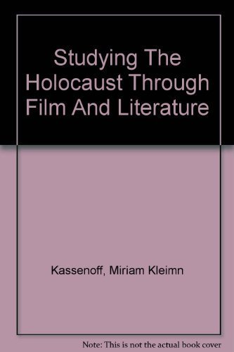 the holocaust in film and literature essay Holocaust literature bibliography anatoli  available from contemporary film/mcgraw hill, princeton rd  as mentioned in the body of the above essay.