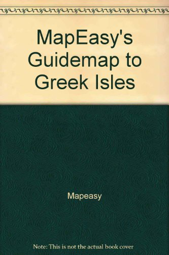 9781929038633: MapEasy's Guidemap to Greek Isles