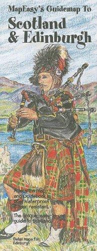 9781929038732: MapEasy's Guidemap to Edinburgh & Scotland (Mapeasy's Guidemaps)
