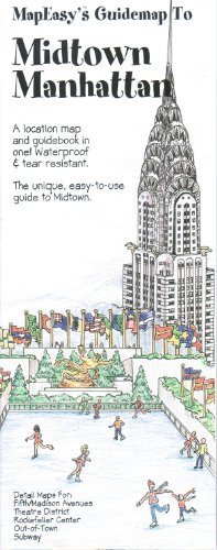 9781929038770: MapEasy's Guidemap to Midtown Manhattan