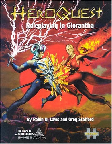 HeroQuest: Roleplaying in Glorantha (192905212X) by Robin D. Laws; Greg Stafford