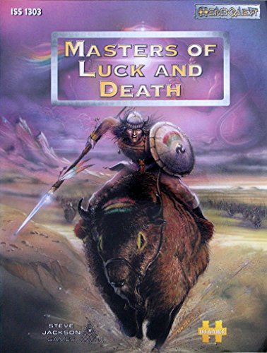 9781929052172: Masters of Luck and Death (Heroquest)