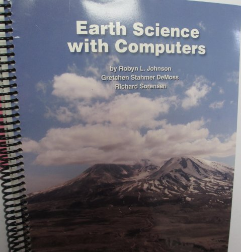 9781929075317: Earth Science with Computers, Experiments Using Vernier Sensors