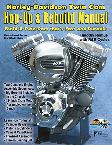9781929133697: Harley-Davidson Twin Cam, Hop-Up & Rebuild Manual