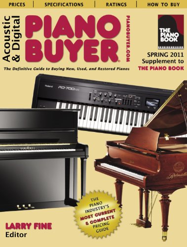9781929145317: Acoustic and Digital Piano Buyers (Supplement to the Piano Book) (The Piano Buyer)