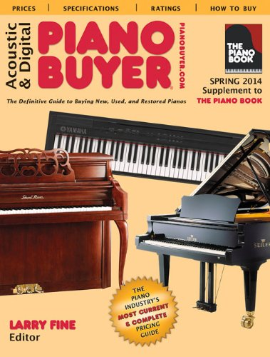 9781929145386: Acoustic & Digital Piano Buyer: Supplement to The Piano Book