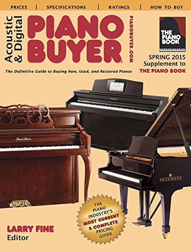 9781929145409: Acoustic & Digital Piano Buyer: Supplement to The Piano Book (Piano Buyer Price Guide)