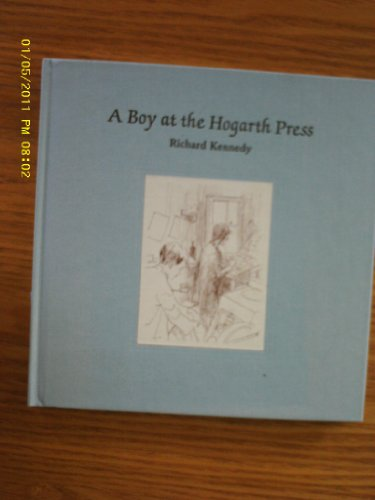 9781929154258: A Boy at the Hogarth Press