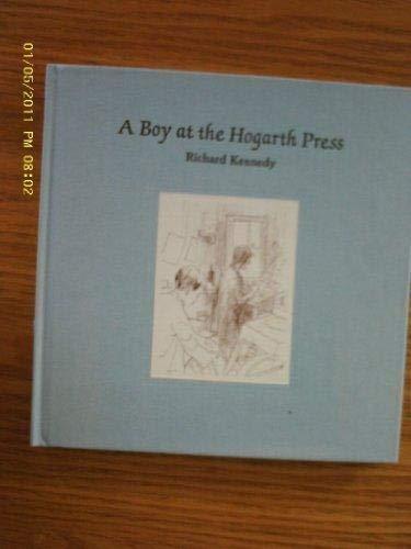 9781929154258: A Boy at the Hogarth Press