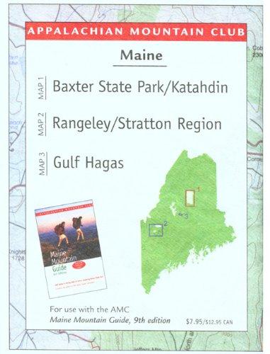 9781929173785: Maine Mountains Trail Map 1: Baxter State Park-Katahdin/Rangeley-Stratton/Gulf Hagas