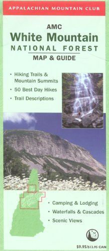 9781929173945: AMC White Mountain National Forest Map and Guide