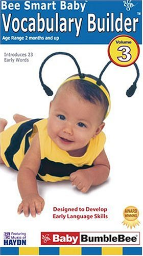 9781929189021: Bee Smart Baby, Vocabulary Builder 3 - an educational video for infants & toddlers [VHS]