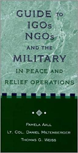9781929223053: IGOs, NGOs, and the Military in Peace and Relief Operations