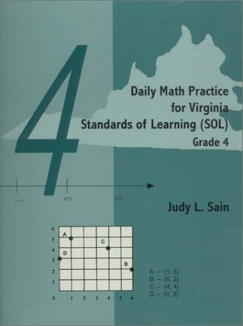 9781929229024: Daily Math Practice for Virginia Standards of Learning (SOL) -