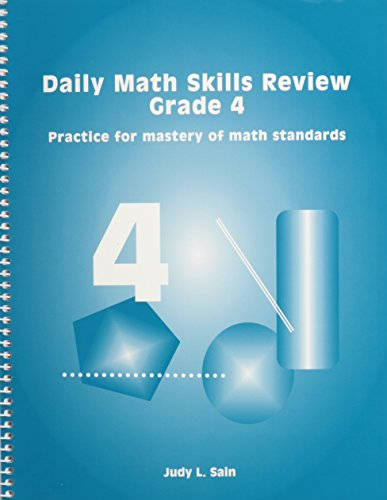 9781929229239: Daily Math Skills Review Grade 4: Practice for Mastery of Math Standards