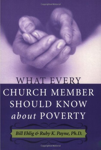 9781929229505: What Every Church Member Should Know about Poverty