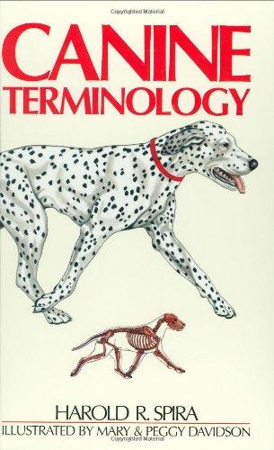 Canine Terminology (Hardcover): Harold R. Spira