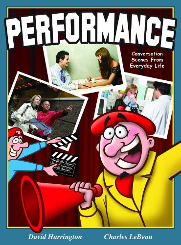 9781929274338: Performance: Conversation Scenes from Everyday Life