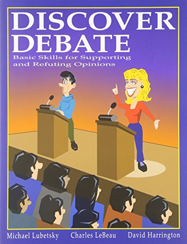 Discover Debate: Michael Lubetsky, Charles Lebeau, David