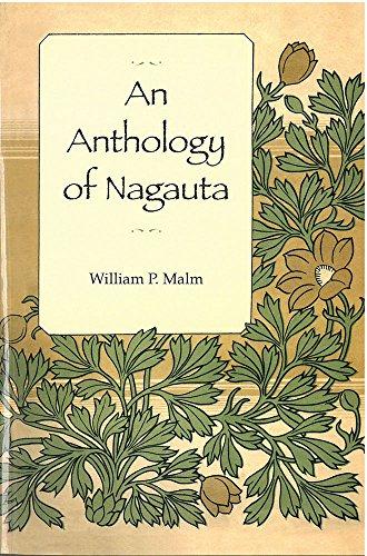 9781929280568: An Anthology of Nagauta (Michigan Monograph Series in Japanese Studies)