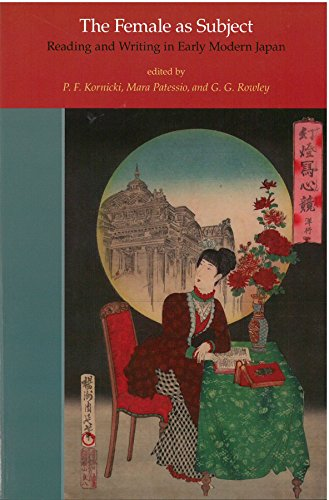 9781929280643: The Female as Subject: Reading and Writing in Early Modern Japan (Michigan Monograph Series in Japanese Studies)