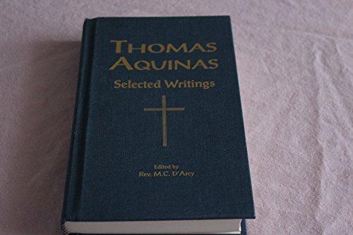 9781929291038: THOMAS AQUINAS Selected Writings
