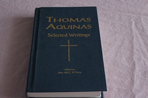 9781929291038: THOMAS AQUINAS Selected Writings