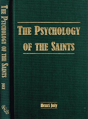 9781929291533: The Psychology of the Saints