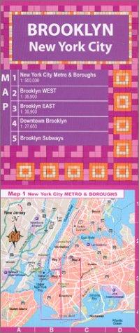 9781929377046: Brooklyn NY City Map (OYO Laminated Street Maps)
