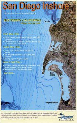 9781929394159: San Diego Inshore Fishing Chart & Guide