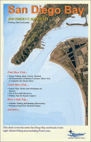 9781929394180: San Diego Bay Fishing Chart & Guide