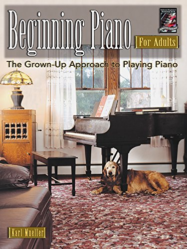 9781929395644: Beginning Piano for Adults: The Grown-Up Approach to Playing Piano (Book & CD) (For Adults (Workshop Arts))