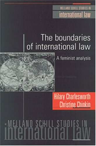 The Boundaries of International Law: A Feminist Analysis (1929446071) by Hilary Charlesworth